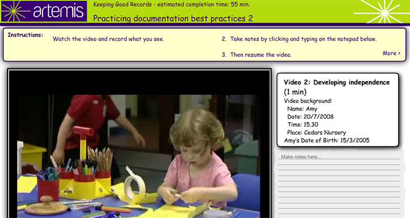 Good Record Keeping Practices Elearning Examples