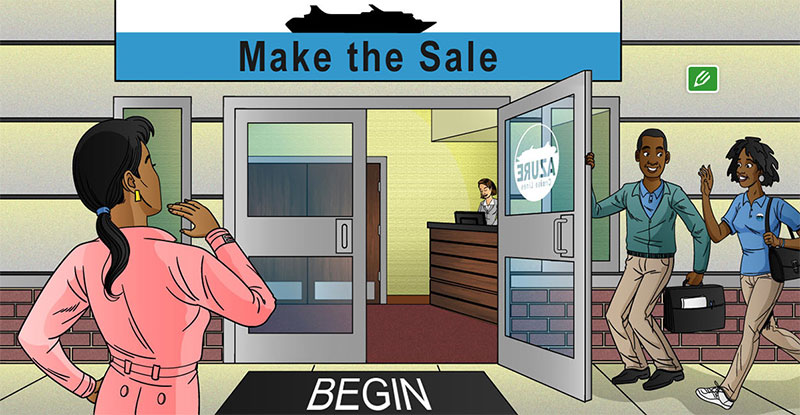 Make the Sale Elearning Example