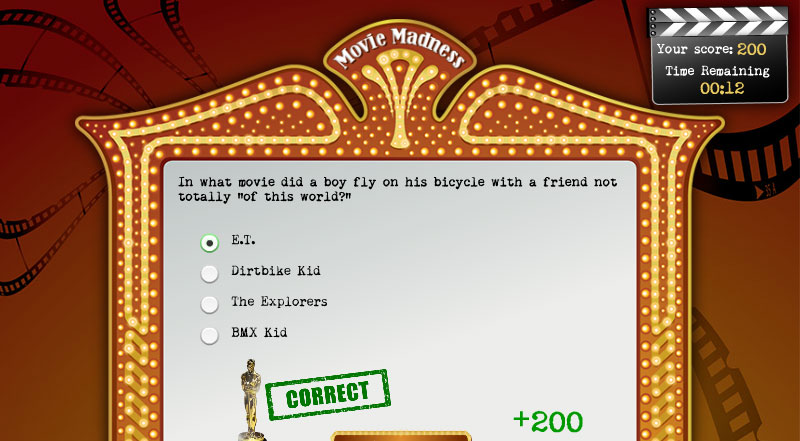 Movie Madness Elearning Example