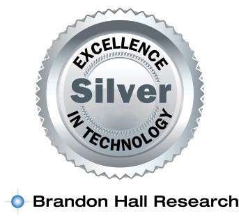 Brandon Hall Research Silver Award in Elearning Technology