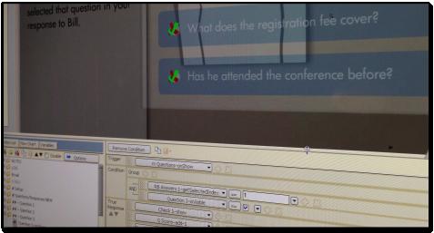 SmartBuilder authoring environment screen shot