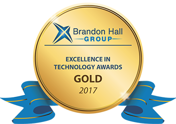 LearnX Gold Award - Elearning &Training